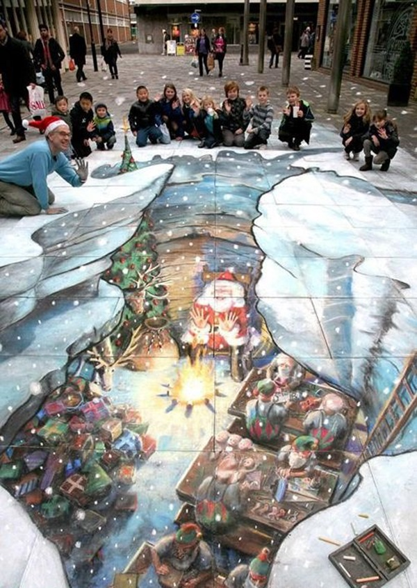 Creative Chalk Art Examples (14)