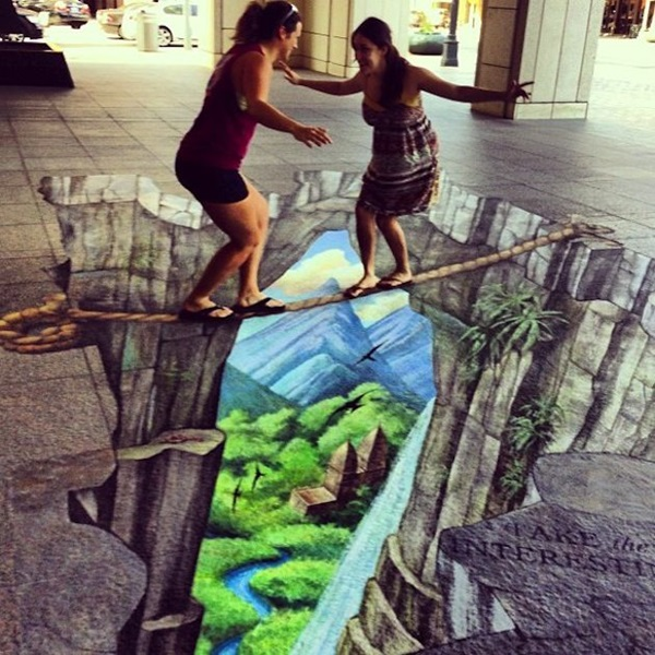 Creative Chalk Art Examples (19)
