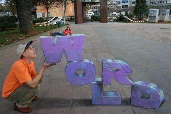 Creative Chalk Art Examples (2)