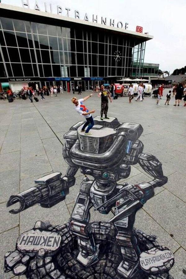 Creative Chalk Art Examples (20)