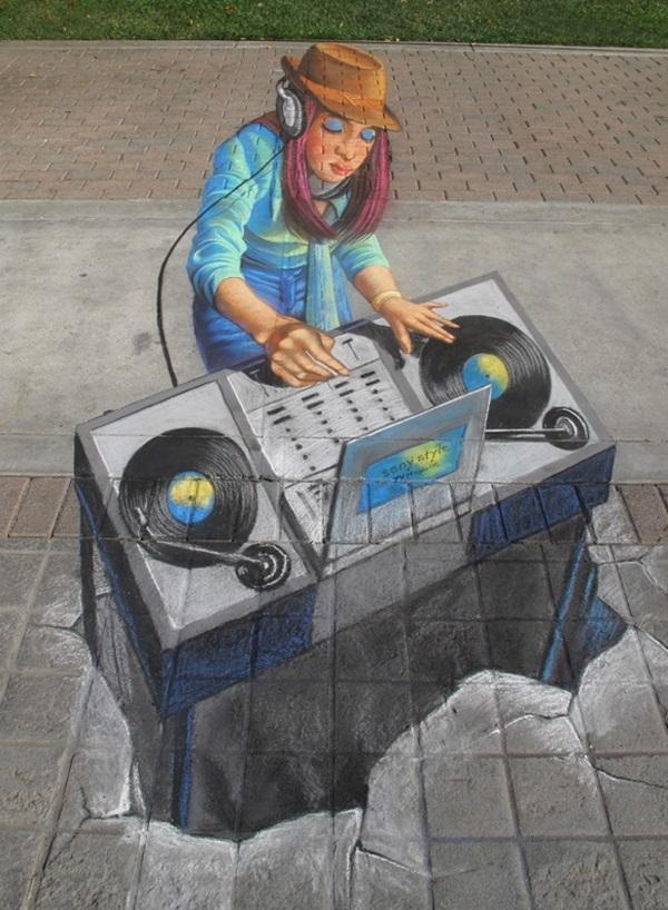Creative Chalk Art Examples (21)