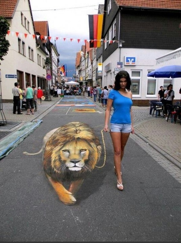 Creative Chalk Art Examples (22)