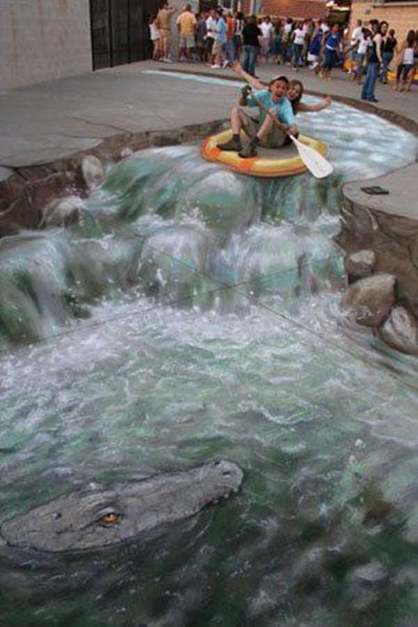 Creative Chalk Art Examples (23)