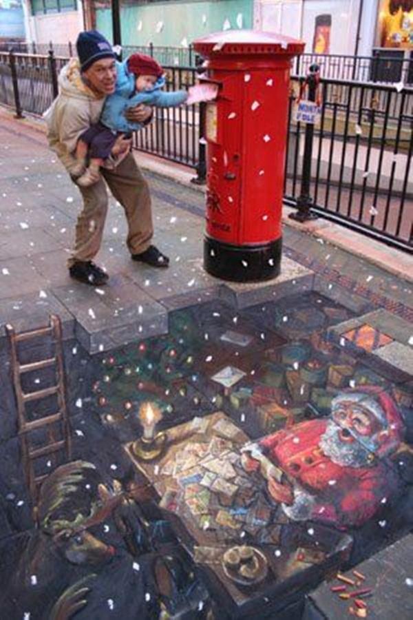 Creative Chalk Art Examples (24)