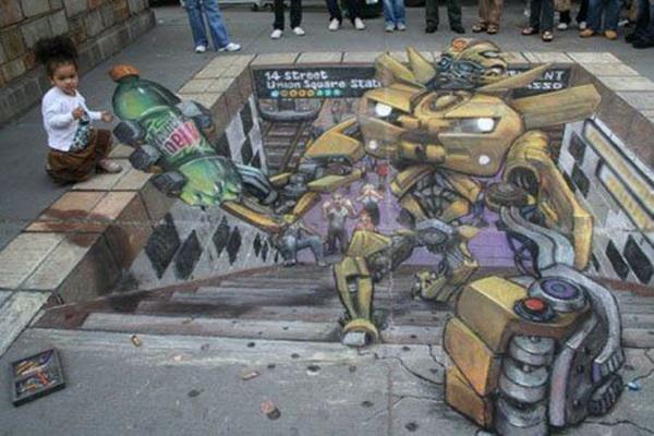 Creative Chalk Art Examples (26)