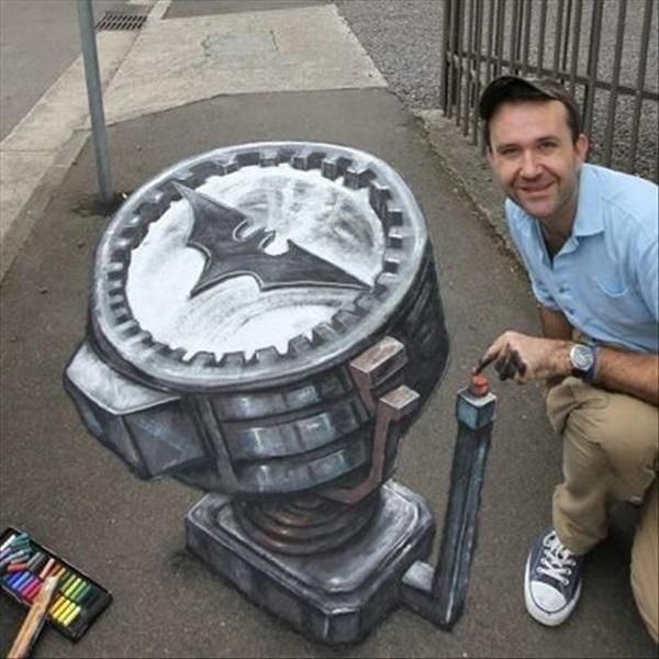 Creative Chalk Art Examples (28)