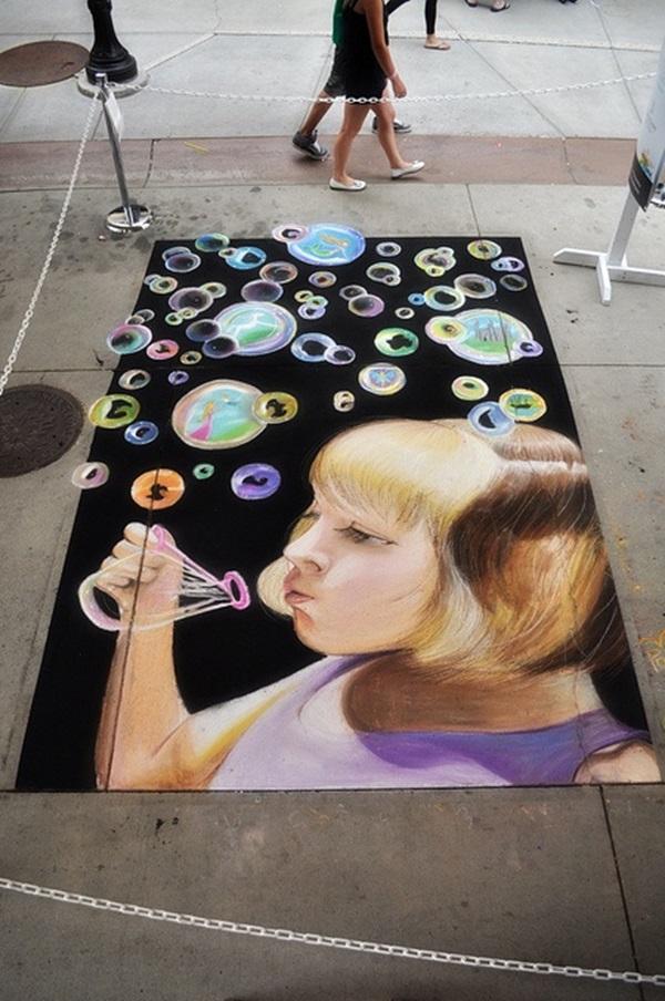 Creative Chalk Art Examples (31)