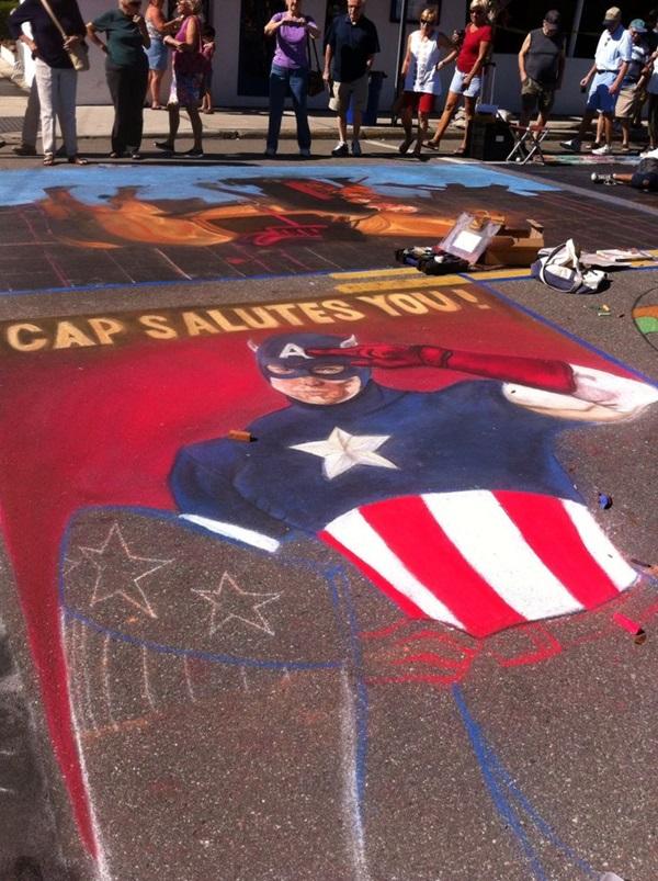Creative Chalk Art Examples (33)