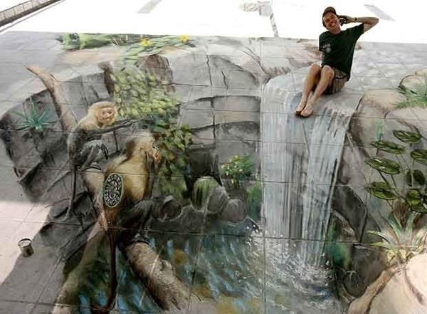 Creative Chalk Art Examples (34)