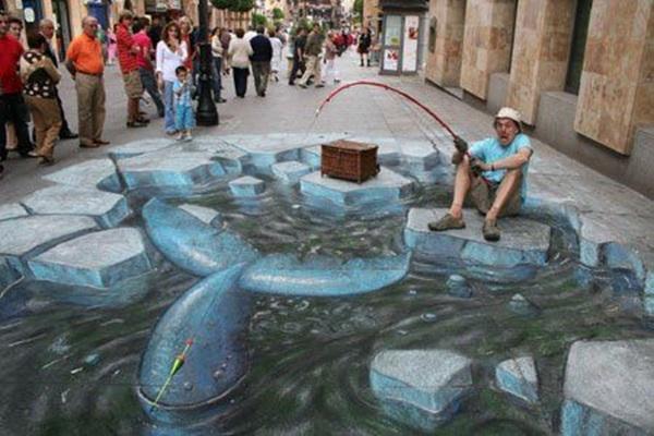 Creative Chalk Art Examples (35)