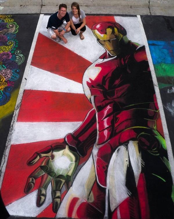 Creative Chalk Art Examples (36)