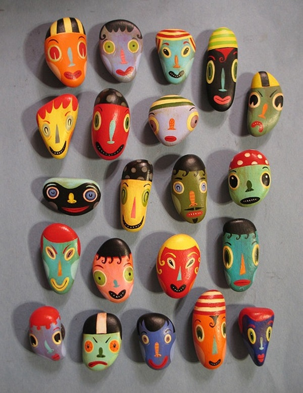 Pictures of painted rocks (13)