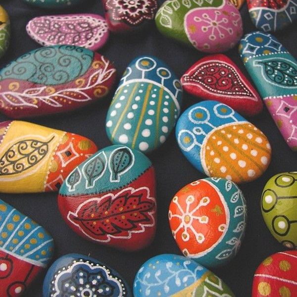 Pictures of painted rocks (35)