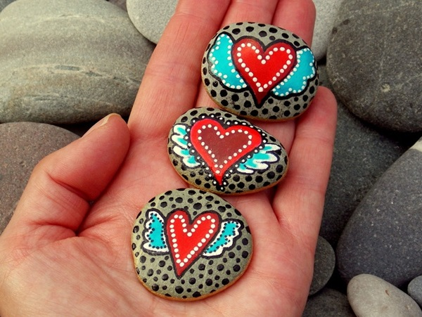 Pictures of painted rocks (40)