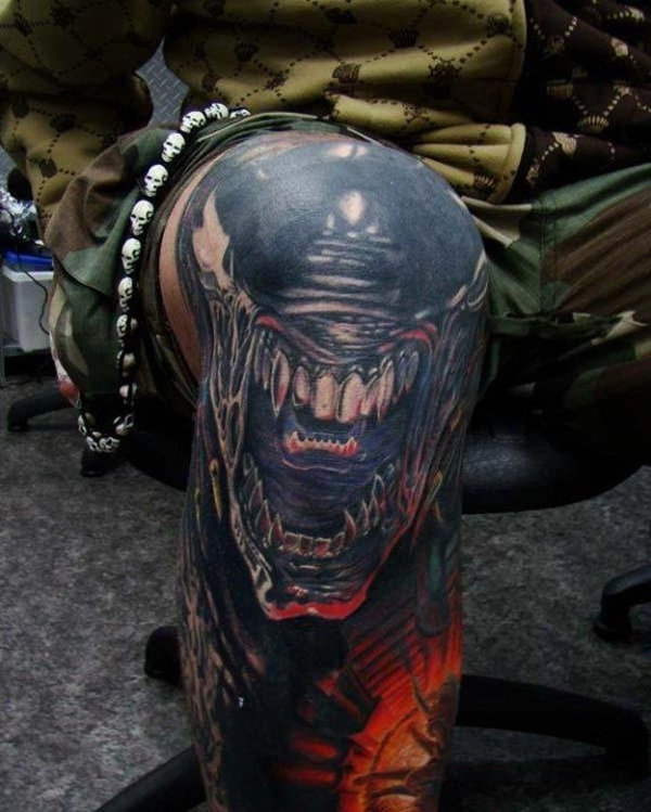 Amazing knee tattoo Design Ideas (16)
