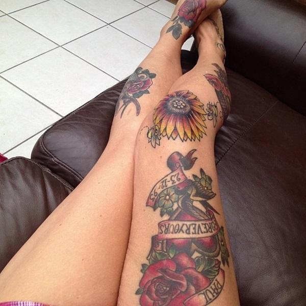 Amazing knee tattoo Design Ideas (18)