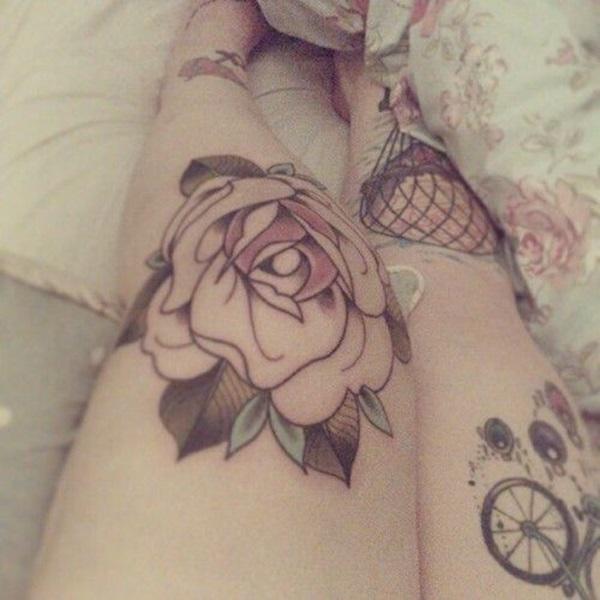 Amazing knee tattoo Design Ideas (25)