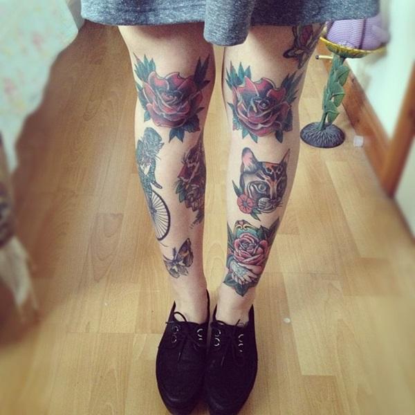 Amazing knee tattoo Design Ideas (27)