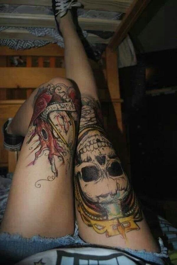 Amazing knee tattoo Design Ideas (39)