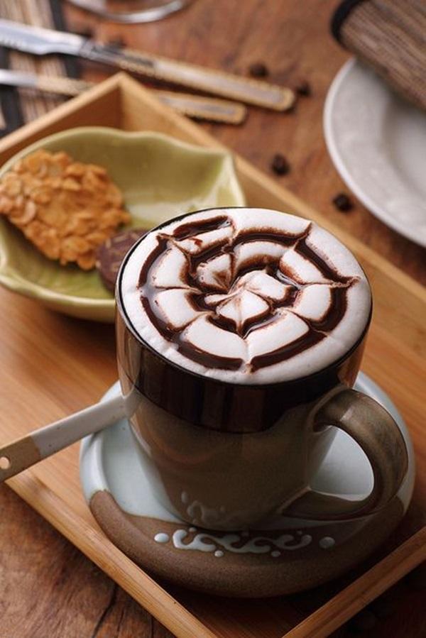 Beautiful coffee art examples (100)