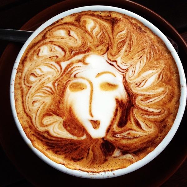 Beautiful coffee art examples (101)