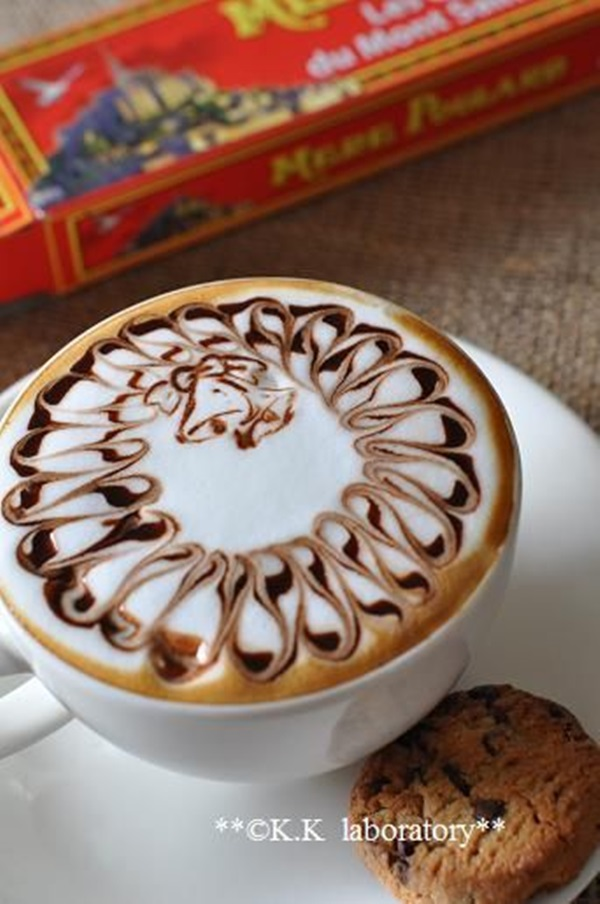 Beautiful coffee art examples (111)