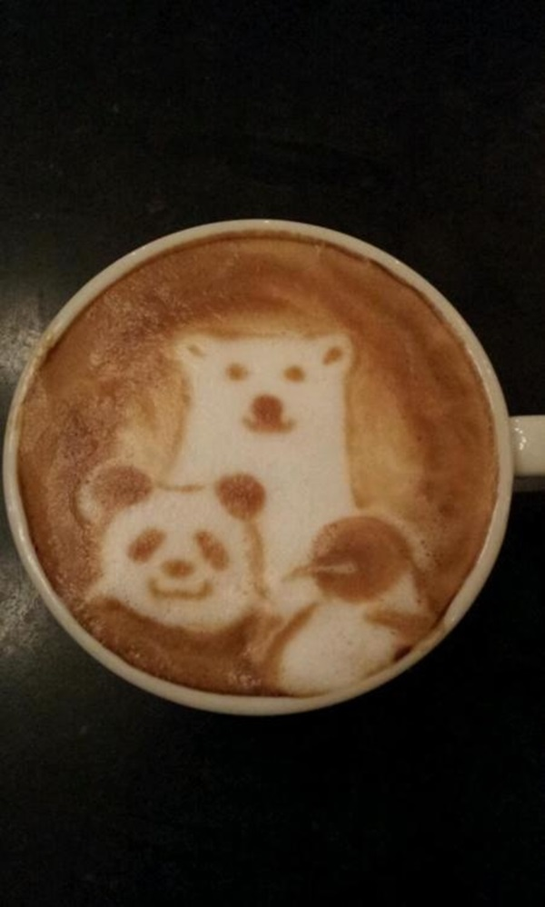 Beautiful coffee art examples (73)