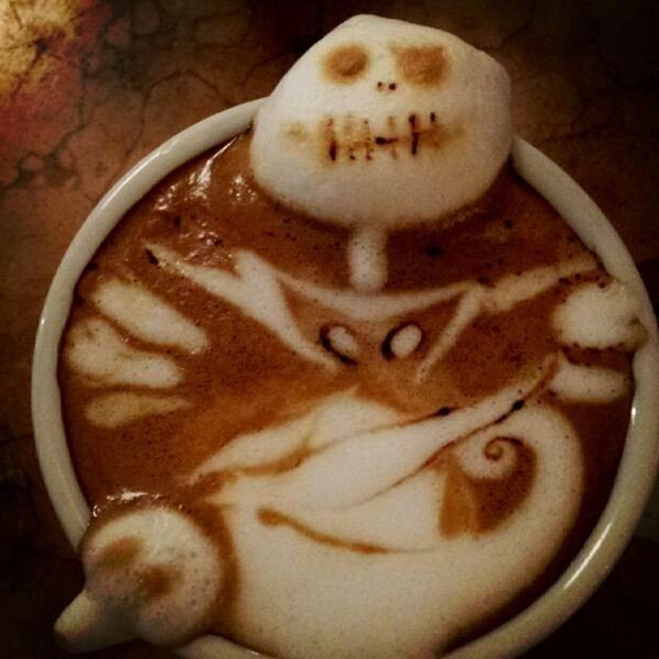 Beautiful coffee art examples (79)