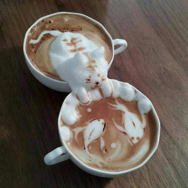 Beautiful coffee art examples (81)