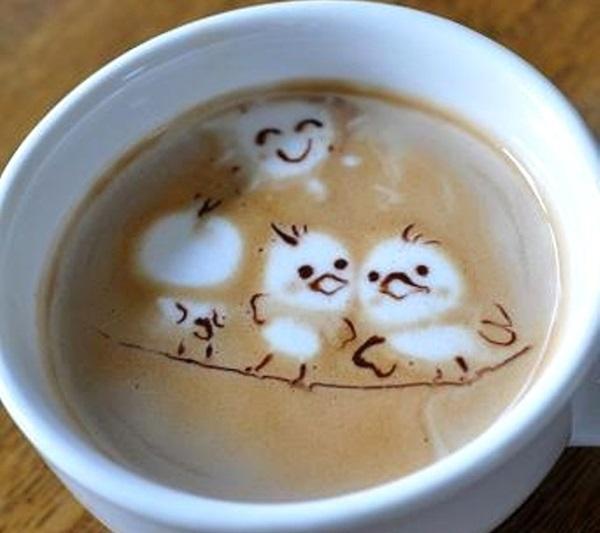 Beautiful coffee art examples (90)