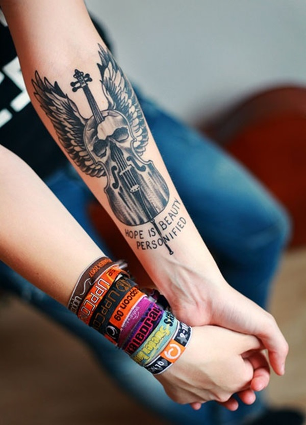 Latest forearm tattoo Designs for Men and Women (26)