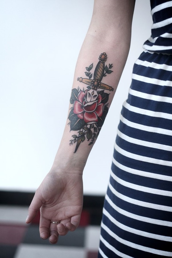 Latest forearm tattoo Designs for Men and Women (29)