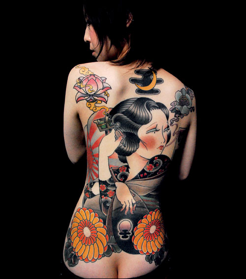 Horimono tattoo designs 1