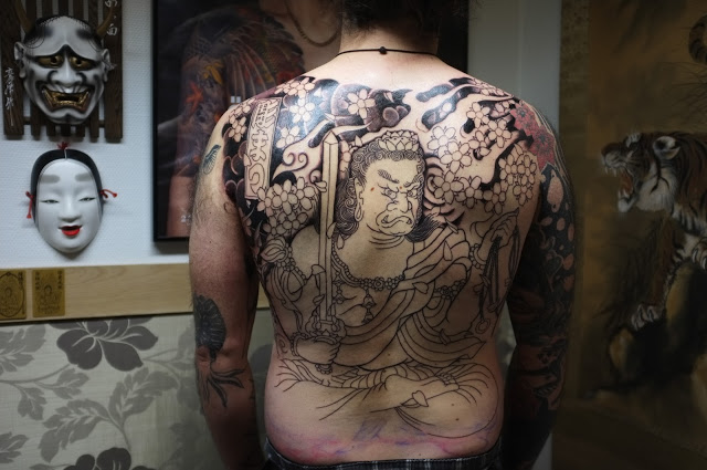 Horimono tattoo designs 24