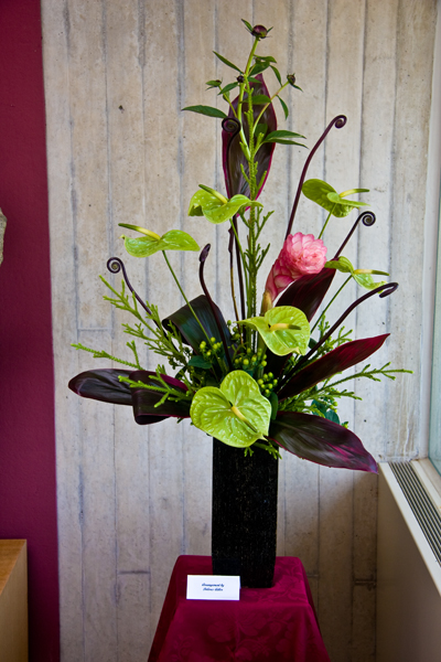 abstract flower arrangement 5