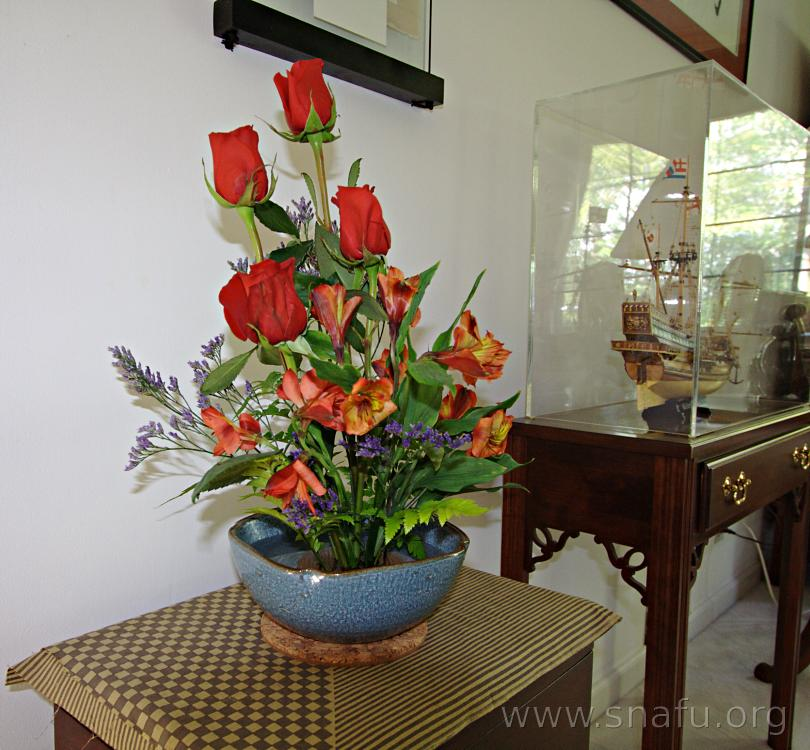 freestyle flower arrangement 2