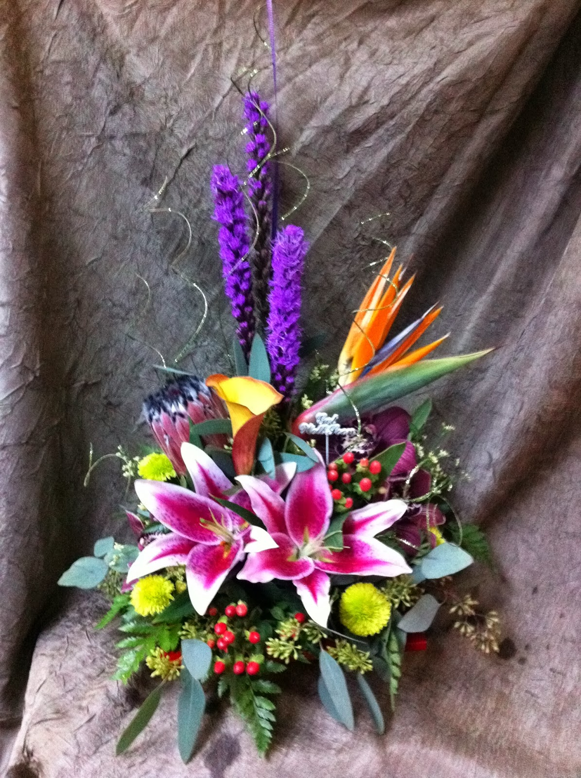 freestyle flower arrangement 5