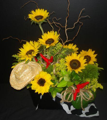 tradiotional flower arrangement 4