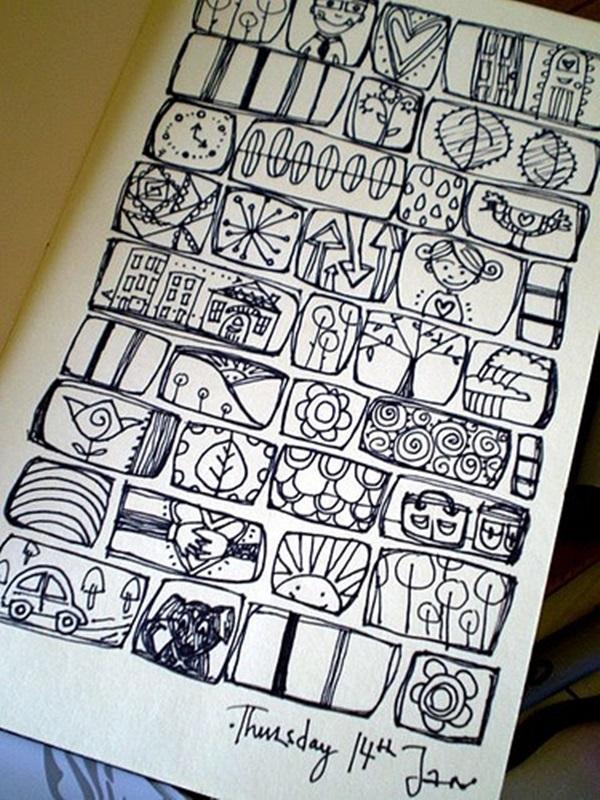 Beautiful Doodle Art Ideas  (13)