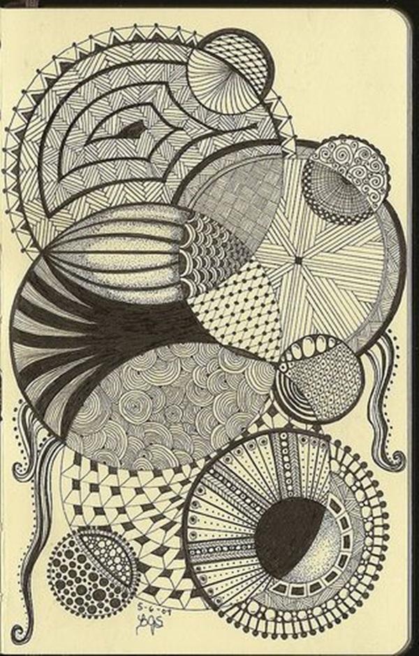 Beautiful Doodle Art Ideas  (19)