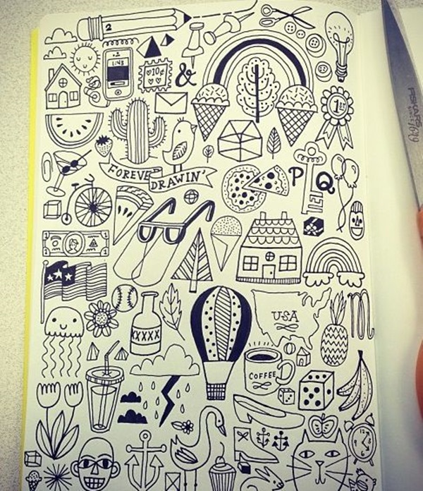 Beautiful Doodle Art Ideas  (26)