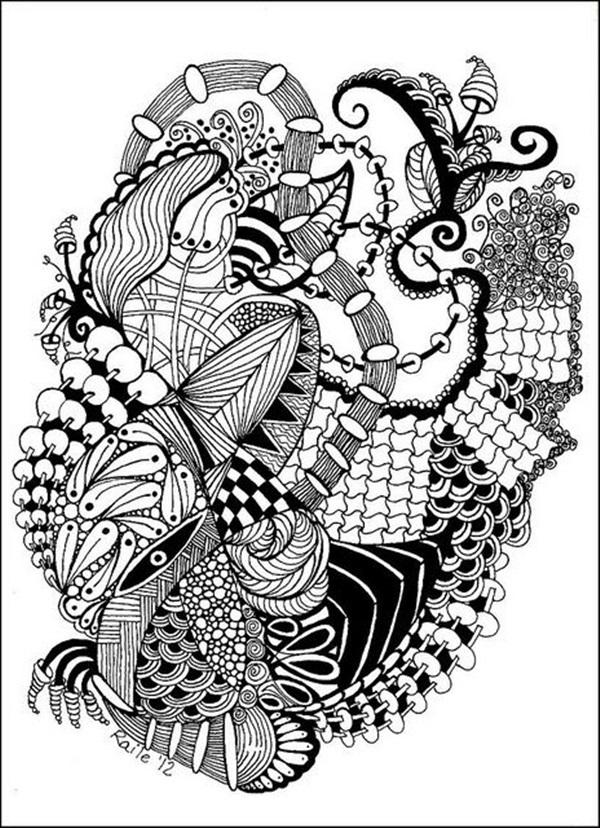 Beautiful Doodle Art Ideas  (4)