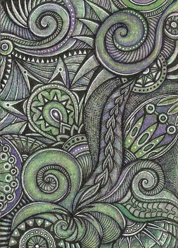 Beautiful Doodle Art Ideas  (9)