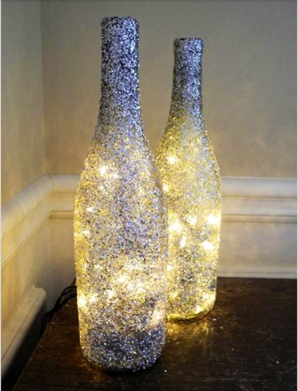 Beautiful Wine Bottle lamps  (10)