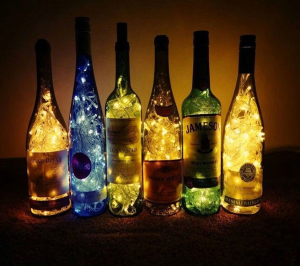 Beautiful Wine Bottle lamps  (11)