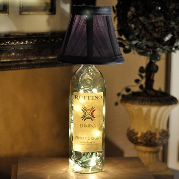 Beautiful Wine Bottle lamps  (14)