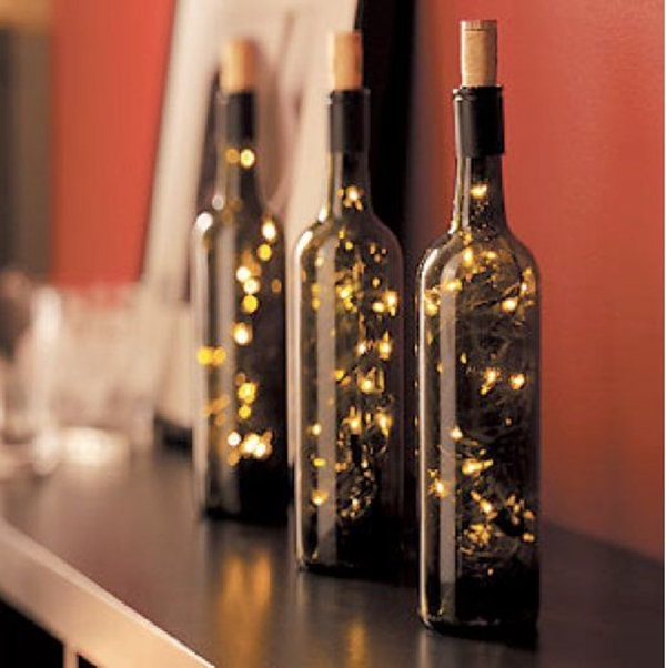 Beautiful Wine Bottle lamps  (2)