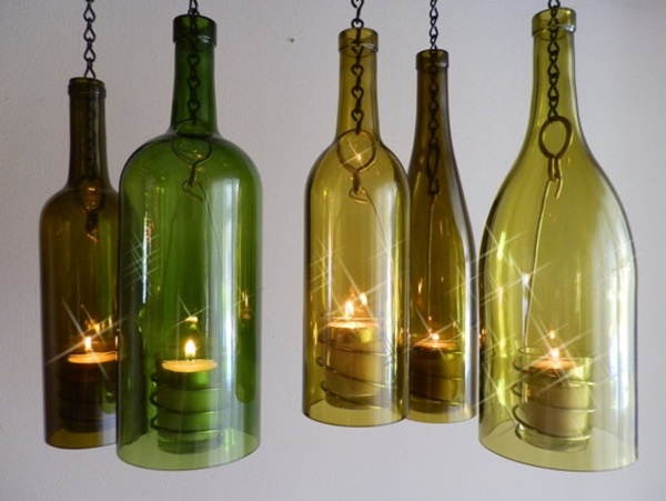 Beautiful Wine Bottle lamps  (22)