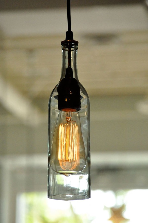 Beautiful Wine Bottle lamps  (26)