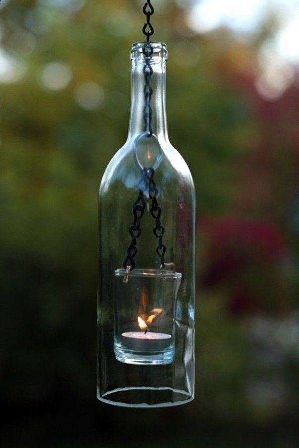 Beautiful Wine Bottle lamps  (29)